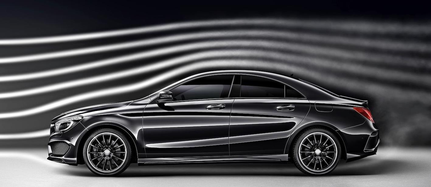 Mercedes CLA windtunnel