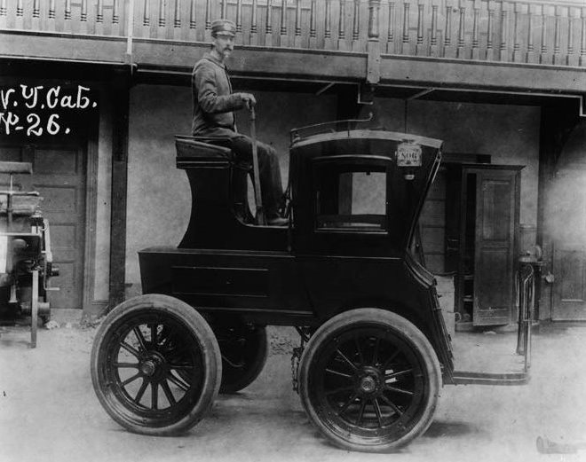 New York Cab 1900-
