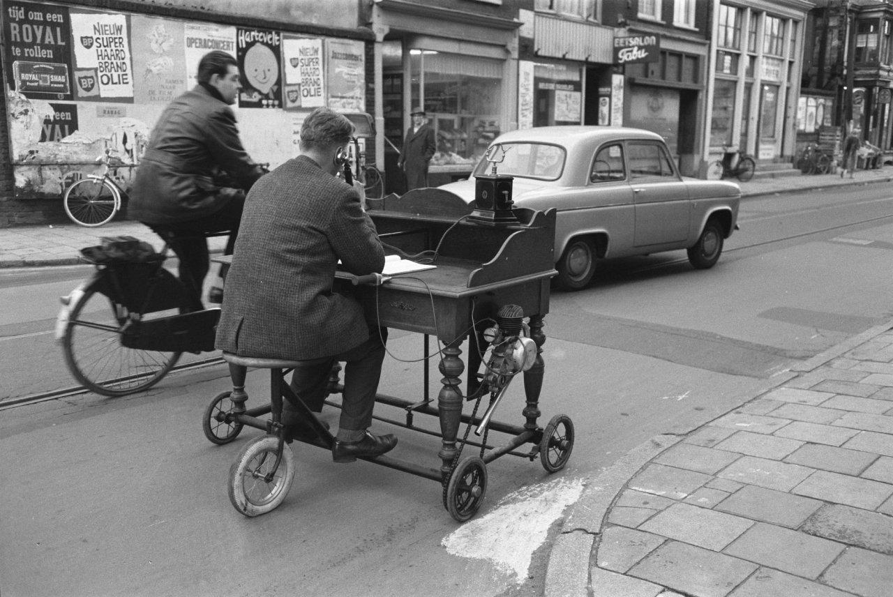 Mobile Office in 1961